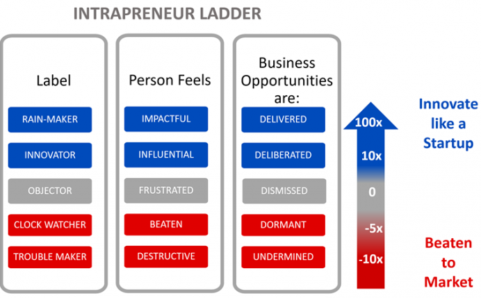 Intrapreneur Ladder